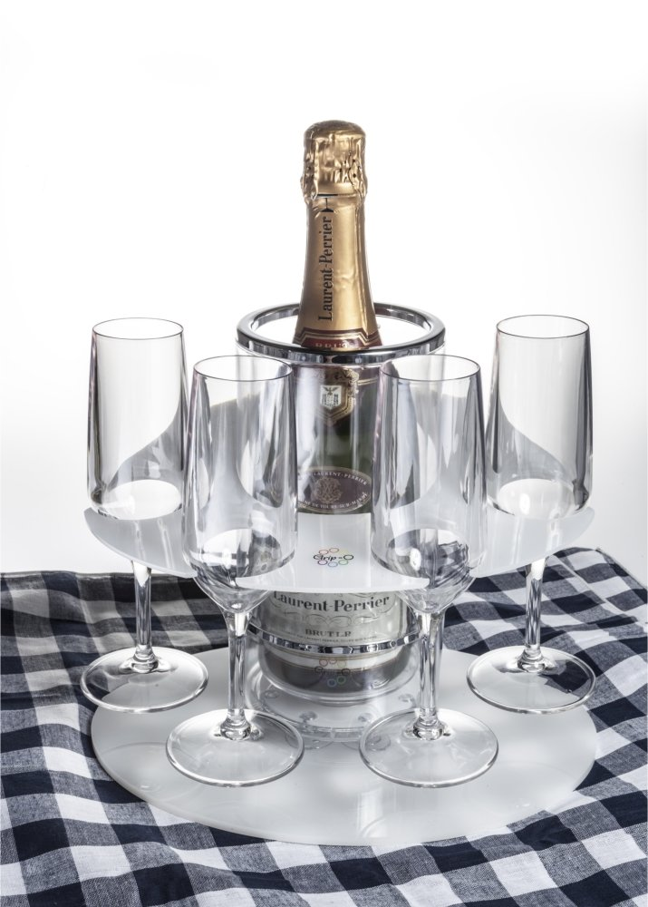 Party Grip-O with 4 Grip-O champagne flutes